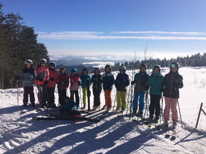 Herrlicher Skitag amSternstein