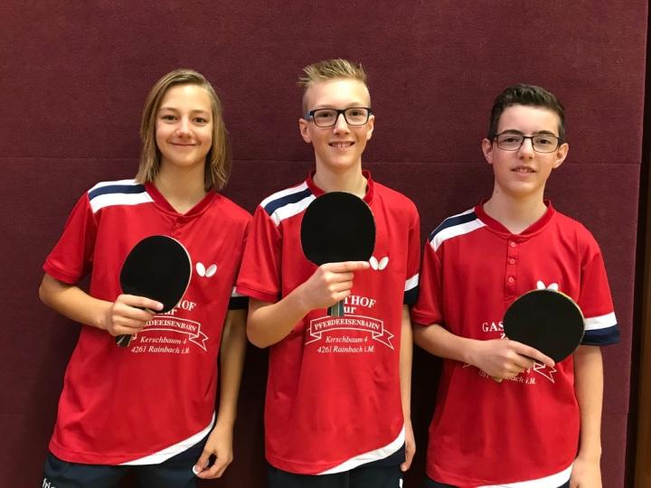 Erfolgreiches Abschneiden bei der Tischtennis-Landesmeisterschaft