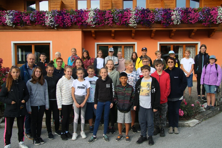 Sportwoche in Wagrain 16. bis 20. September 2019