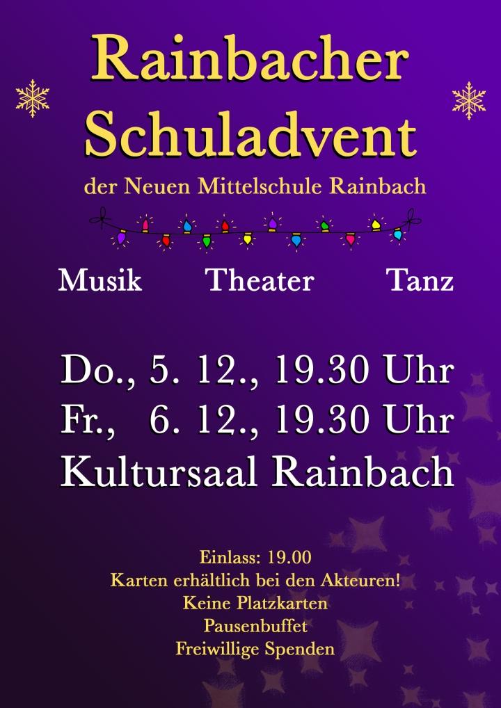 """""""Rainbacher Schuladvent"""" mit""""Hallelujah"""""""