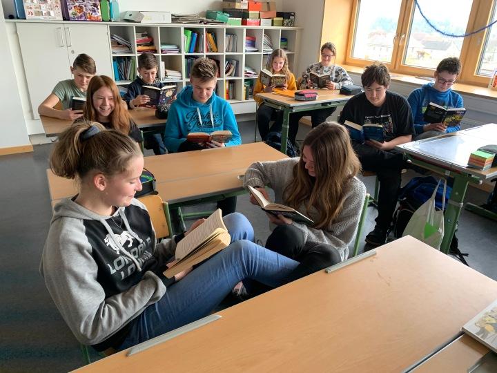 Schüler/innen lesen mehr als 30.000Seiten