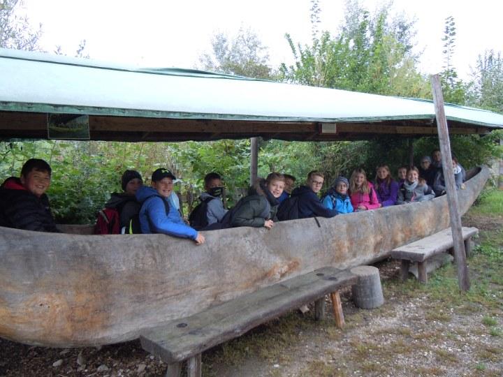 Exkursion der 2. Klassen in das KeltendorfMitterkirchen