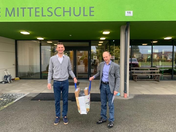 Großzügige Notebook-Spende durch Rotary ClubFreistadt